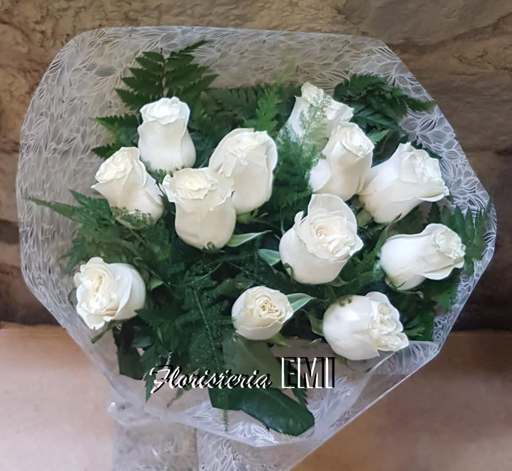 Ramo Doce Rosas Blancas