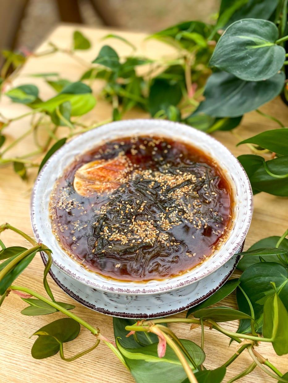 Суп з вугрем і локшиною фунчоза (350г)