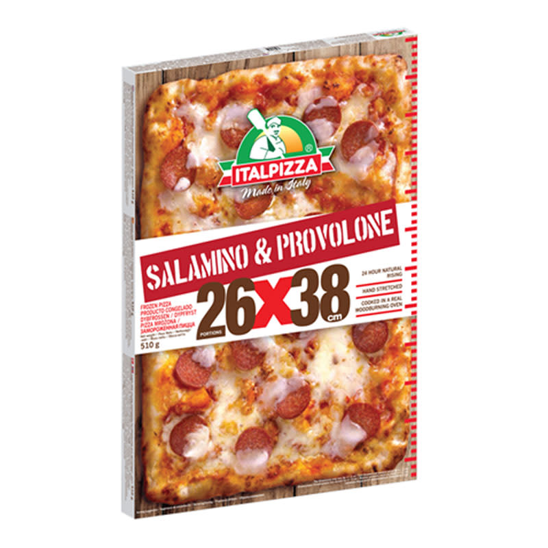 Pizza Salamino E Provolone 510G