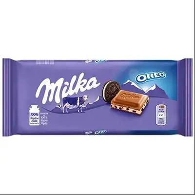 Ciocolata Milka tableta oreo sandwich, 92g