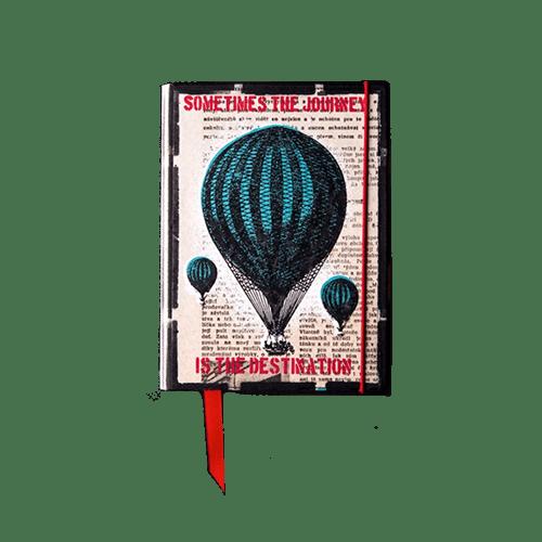 Notebook - mongolfiera