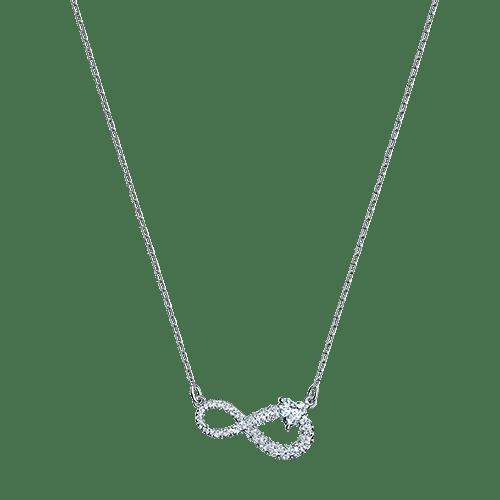 Collana Swarovski Infinity - ID  5520576