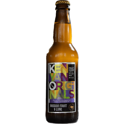 KO Passion & Lime Cider 330ml