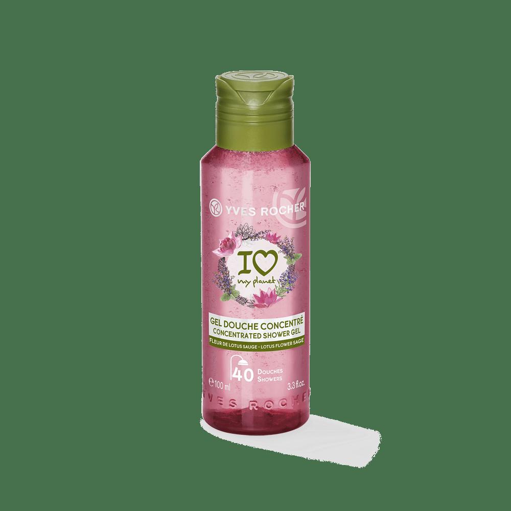 Lotus Sage Concentrated Shower Gel 100ml - Pn4