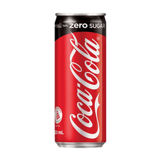 კოკა-კოლა ზერო ქილის 0.33ლ