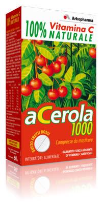 Acerola 1000 Arkopharma 60 compresse