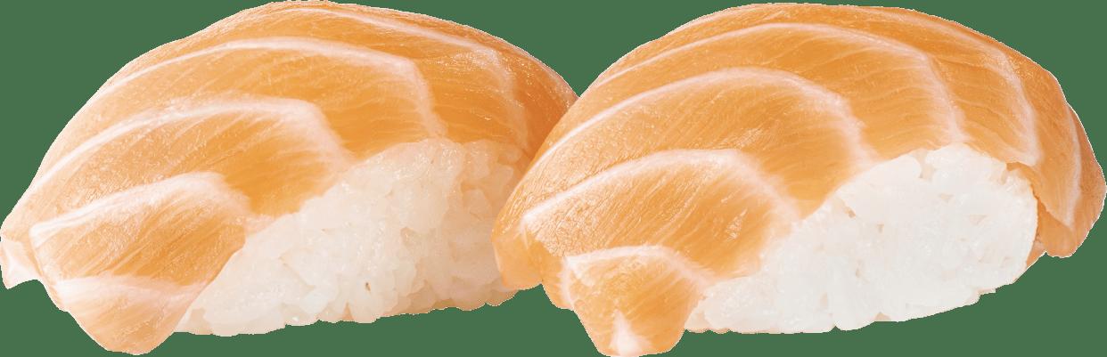 Суші копчений лосось 2шт