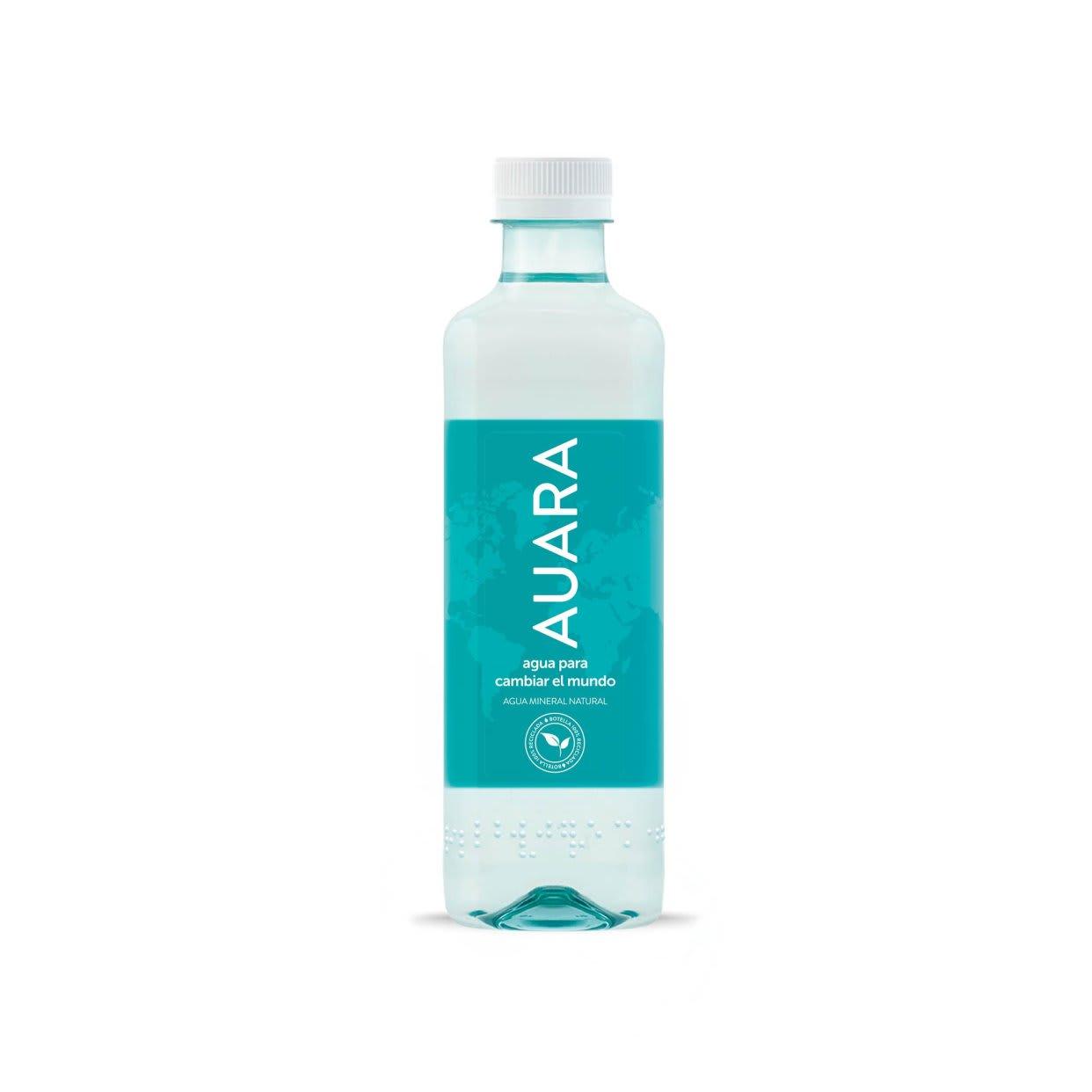 Agua solidaria Auara (50 cl.)