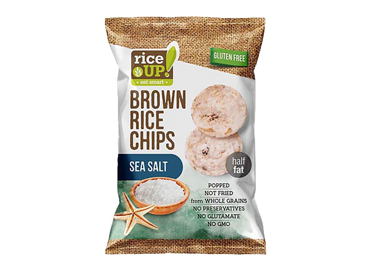 Чипс оризов Rice Up Морска сол (60г) / 24010