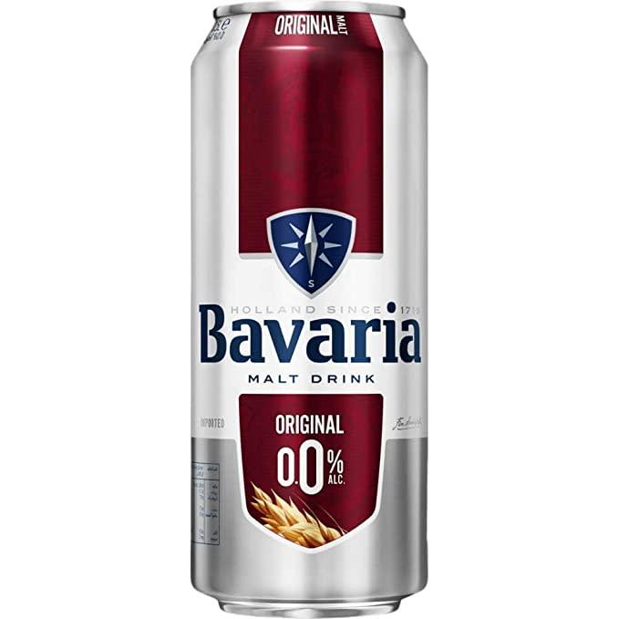 Bavaria original flavoured malt drink can 500ml