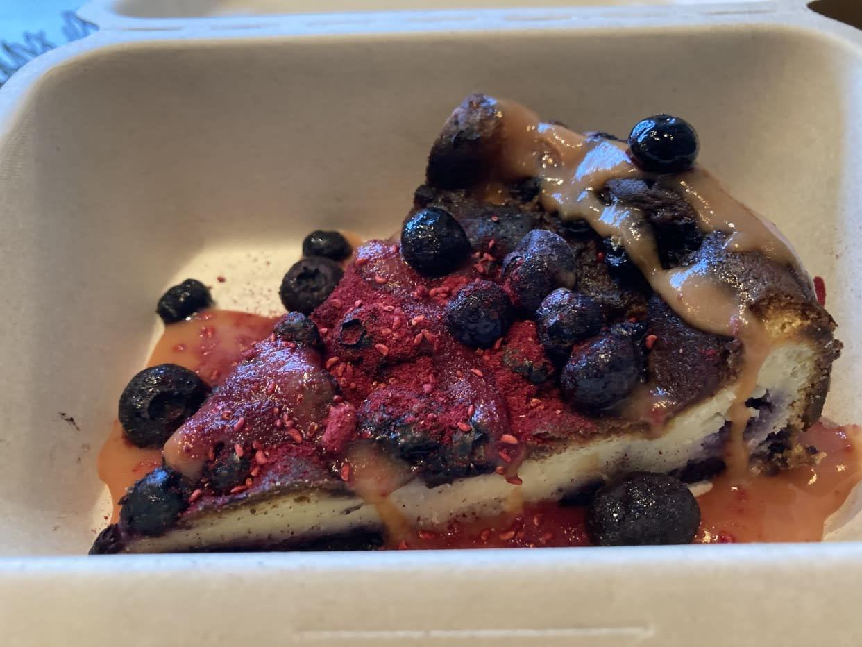 Cheesecake Cozido de Mirtilo