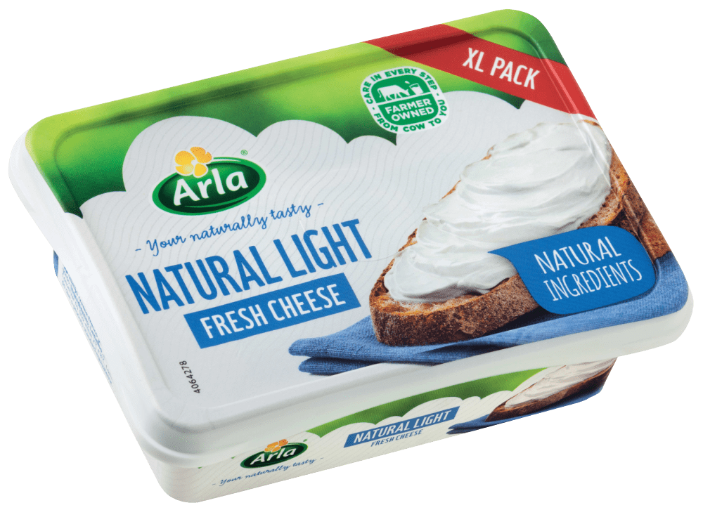 Arla Natural Light Fresh Cheese 250G