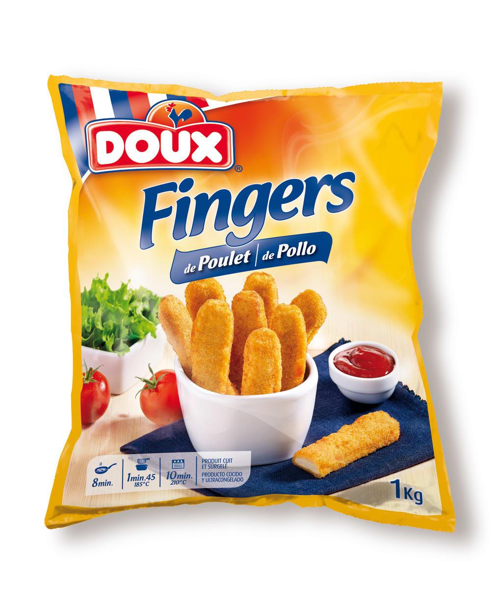 Breaded Chicken Fingers 1KG