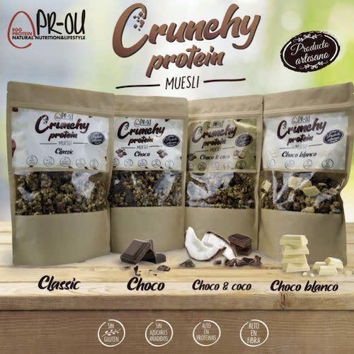 Muescli Crunchy Chocolate Blanco Gluten Free