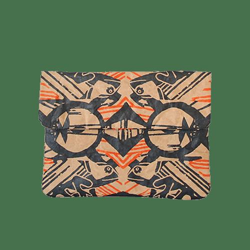 Custodia iPad mini / Kindle / Paperwhite - cama orange