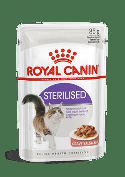 Вологий корм для котів Royal Canin Sterilised Gravy (85г)