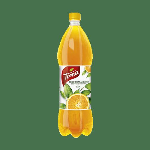 Sok Toma pomarańczowy 1l