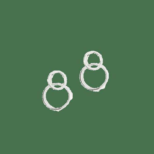 Orecchini Linked Circle