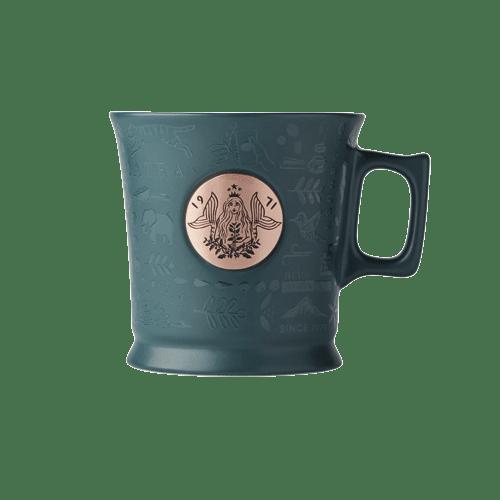 Kubek ceramiczny z metalowym logo Anniversary 14oz