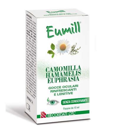 Eumill gocce oculari rinfrescanti e lenitive flacone da 10 ml