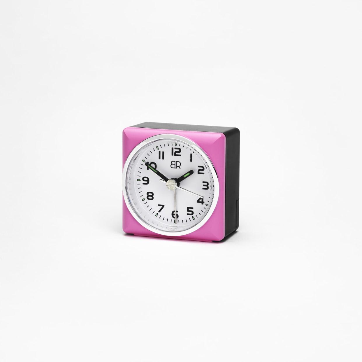 Budilka BR roza 5,7 x 5,7 x 3,2 cm (59150233)