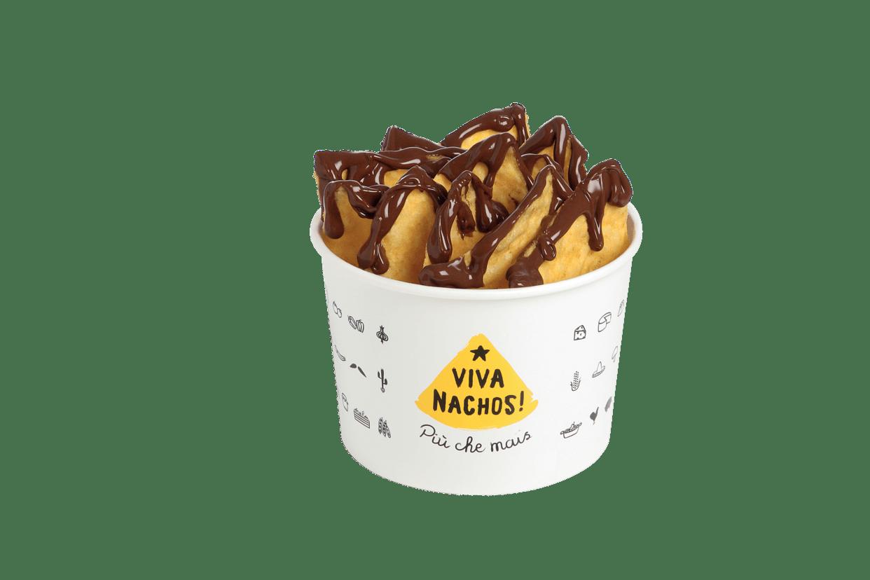 Nachos con Nutella