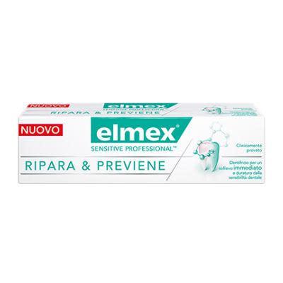 Elmex Sensitive Professional Ripara & Previene dentifricio 75 ml