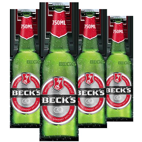 Beck's Sticla 4 x 750ml