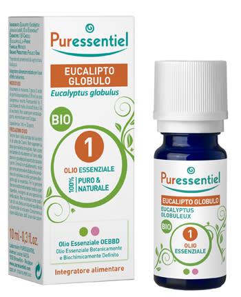 Olio Essenziale Eucalipto Globulo Bio - 10Ml
