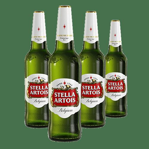 4 X Stella Artois sticla 660ml