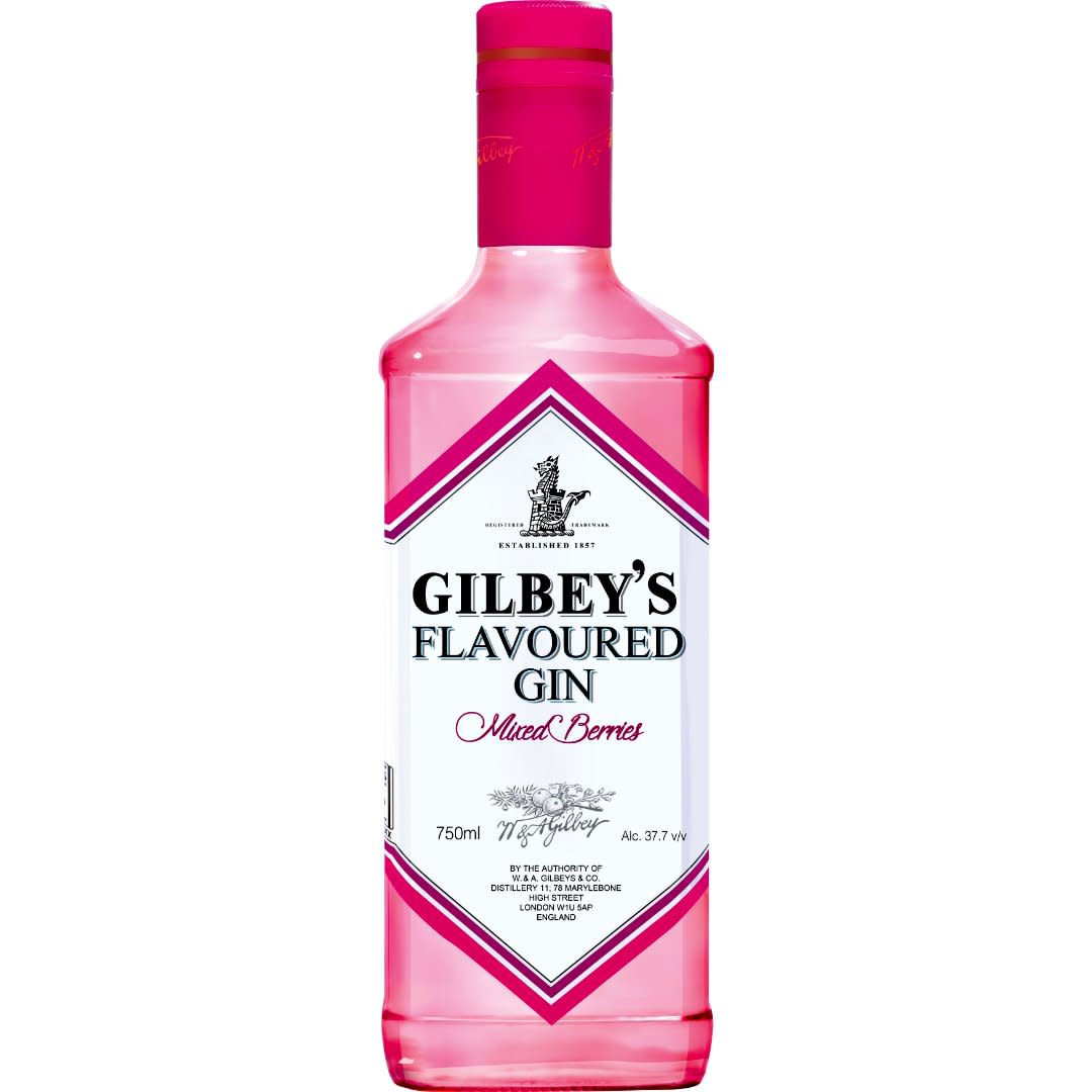 Gilbeys flavoured mixed berry 750ml