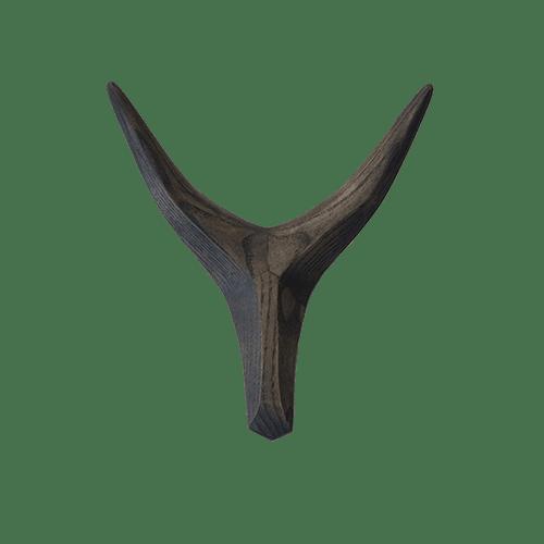 Appendiabiti in legno - frassino nero