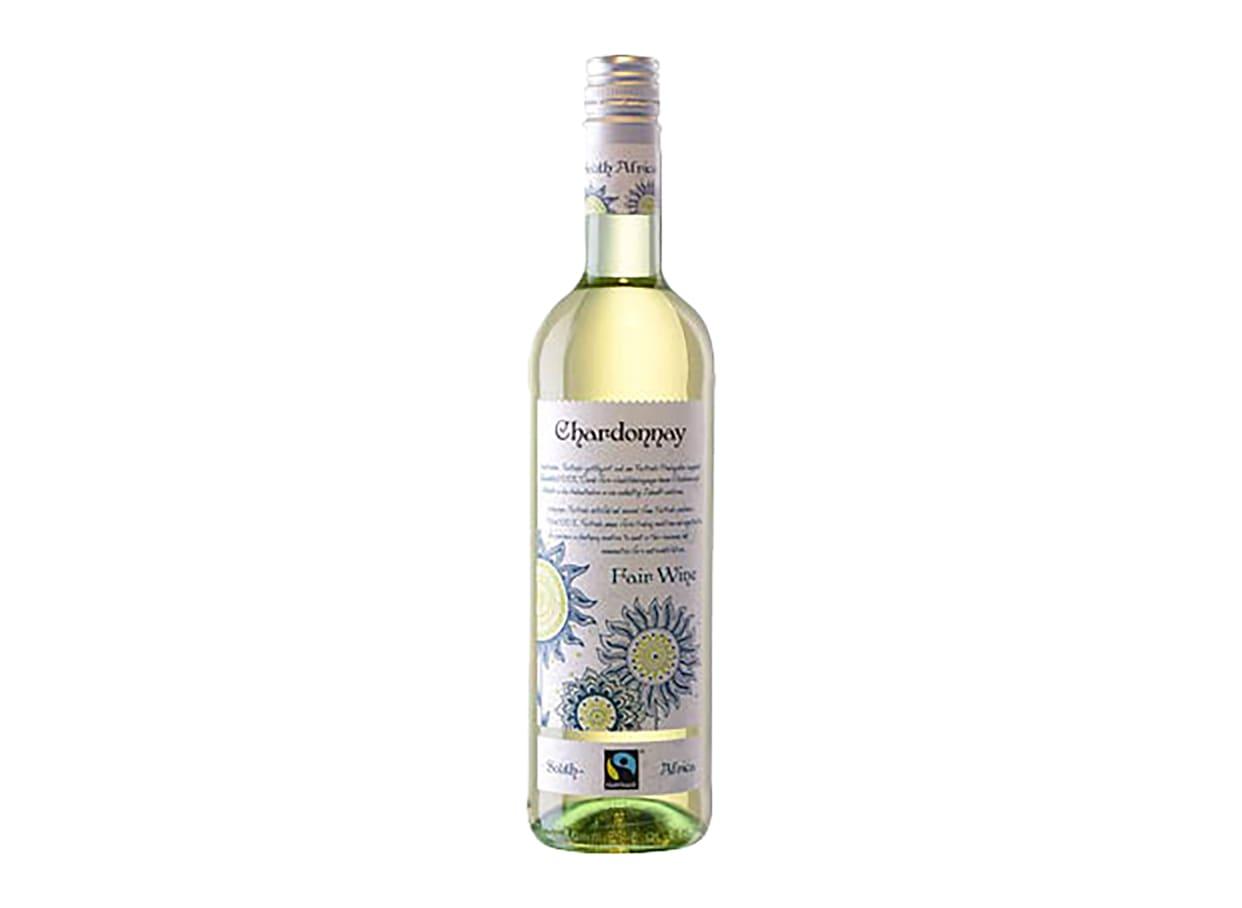 Вино бяло Fair Wine Шардоне и Шенин Блан (750мл) / 656645