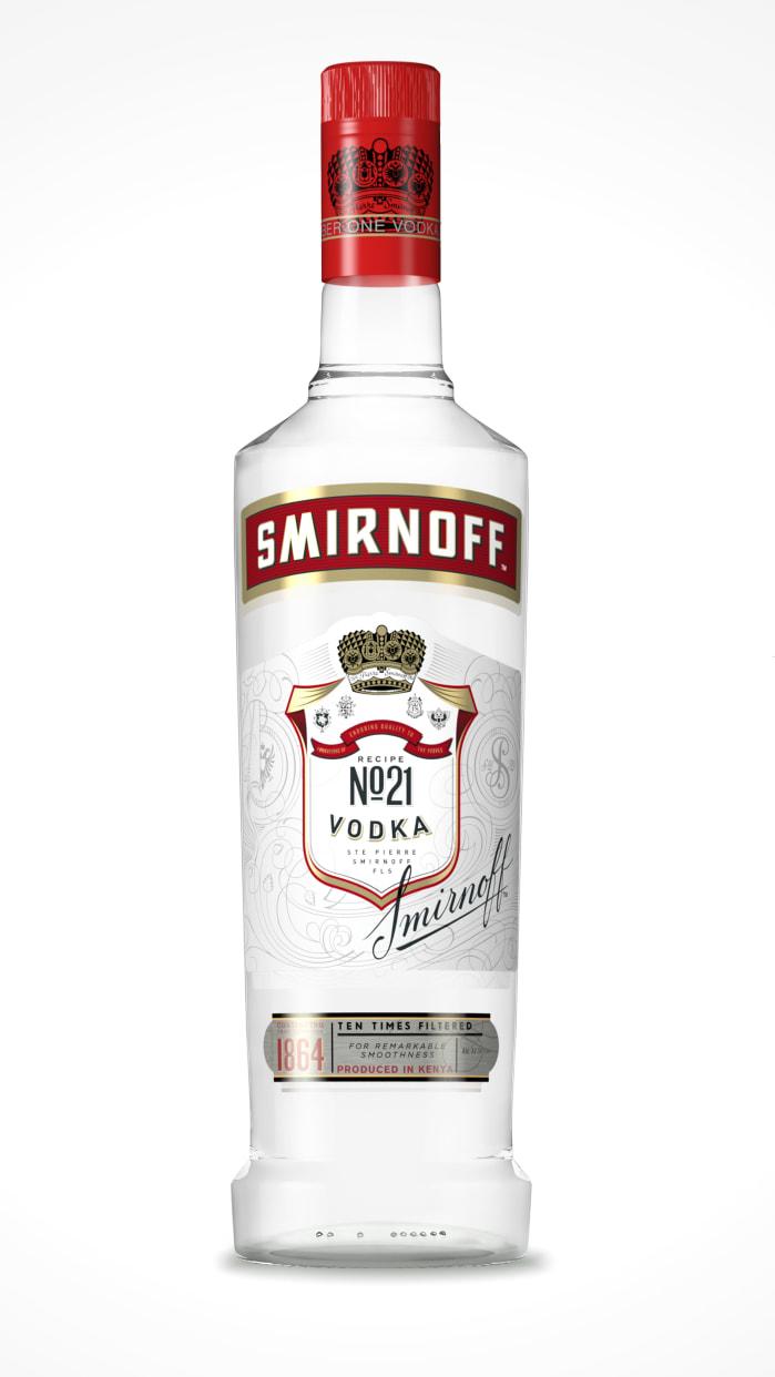 smirnoff red vodka 750ml
