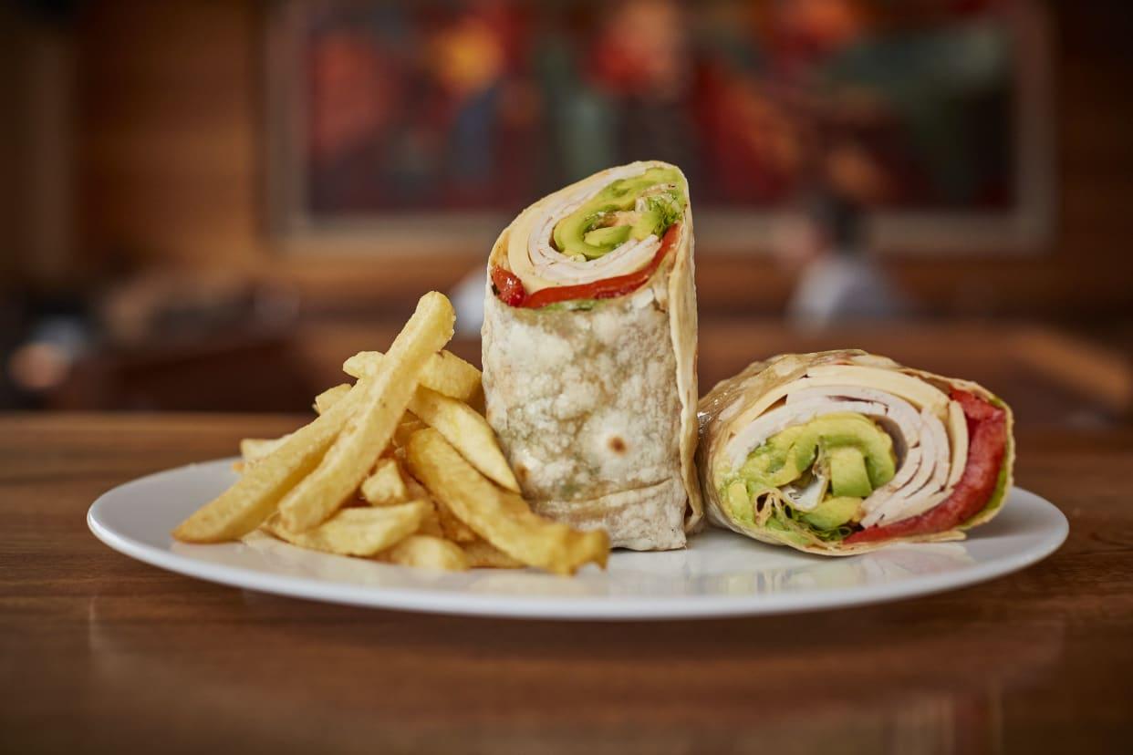 Turkey, Cheese & Avocado