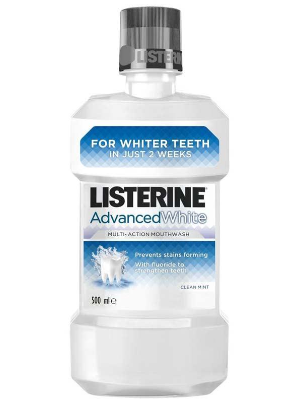Listerine Advanced White collutorio sbiancante 250 ml