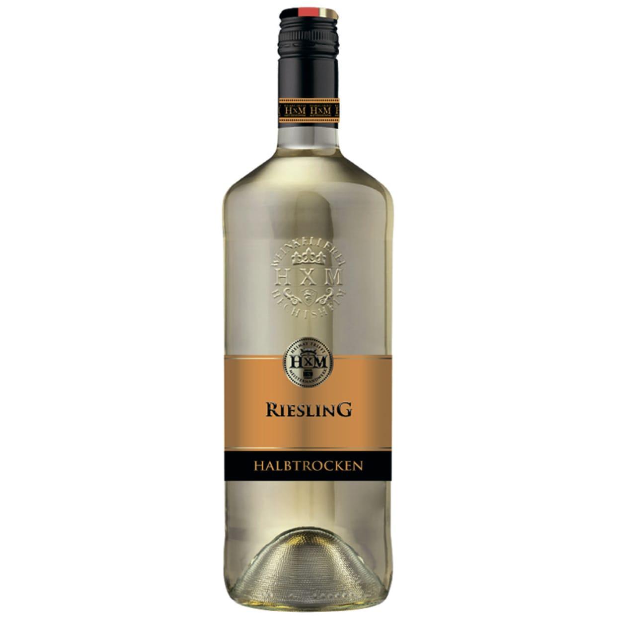 Вино НХМ Ріслінг хальб-трокен (1л)