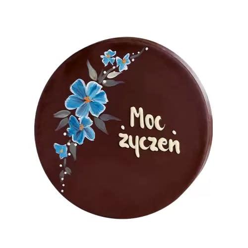 """Torcik malowany """"Kwiaty Niebieskie"""" 235g"""