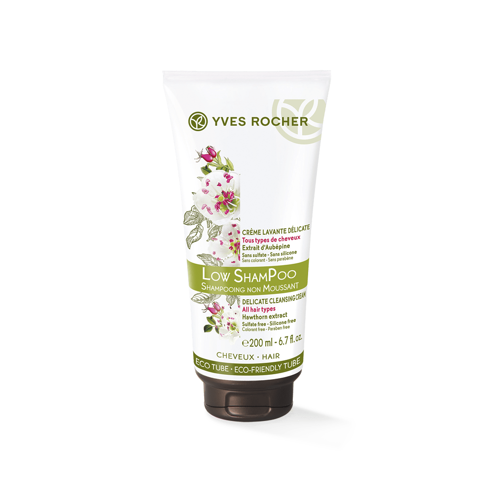 Low Shampoo Delicate Cleansing Cream 200ml - Botanical Haircare 2