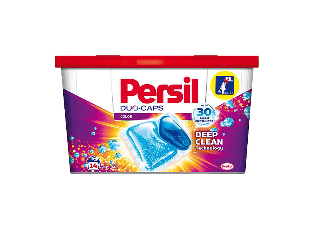 Капсули за пране Persil Duo-Caps Color (14бр) / 21073