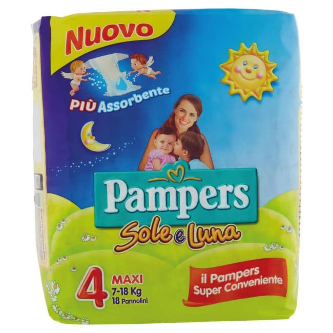 Pampers  Soleluna  Maxi 18 Pannolini