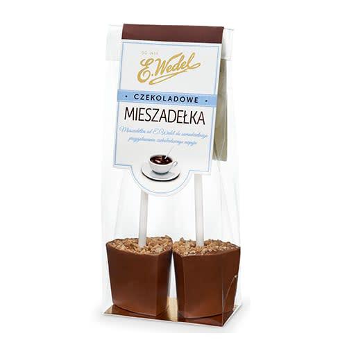 Mieszadełka czekoladowe Orzech Laskowy 60g