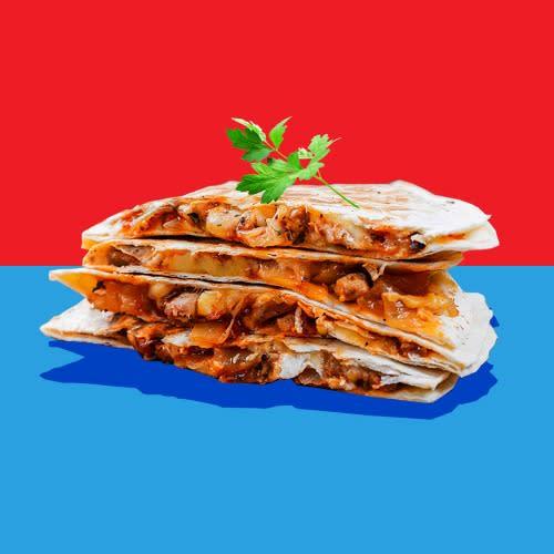 Pilla Quesadilla Chorizo