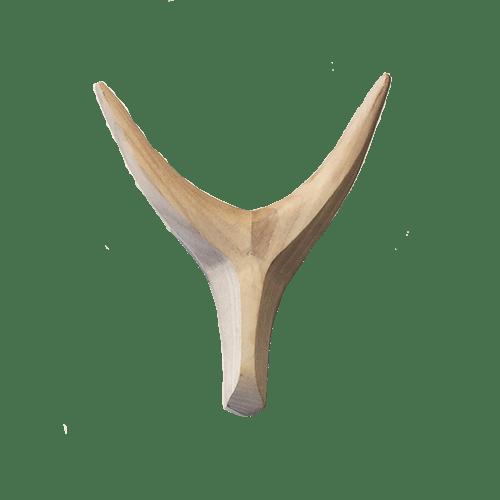 Appendiabiti in legno - frassino bianco