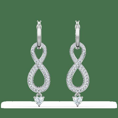 Orecchini Swarovski Infinity - ID 5520578