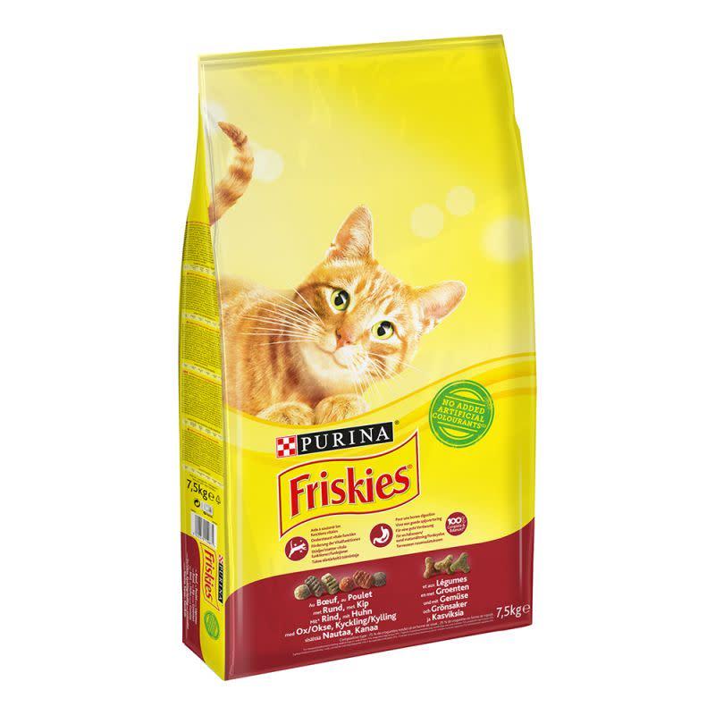Friskies Alimento Para Gato Com Vaca. Frango E Legumes 2Kg