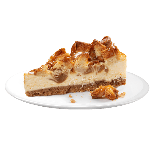 Caramel Waffel Cheesecake