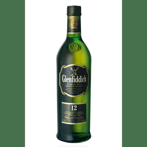Whisky GLENFIDDICH 12YO 40% 0,7L