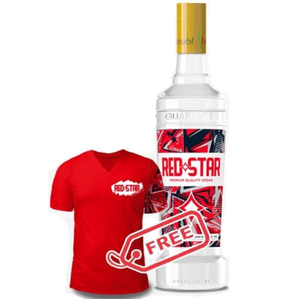 Redstar Vodka 750ml
