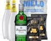 Pack Gin  (Tanqueray+2Xtónica+Hielo+2Xlays)